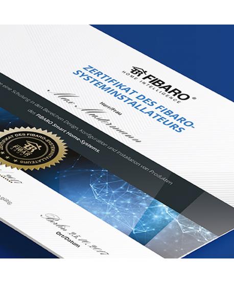 Offizielle FIBARO Zertifizierungsschulung