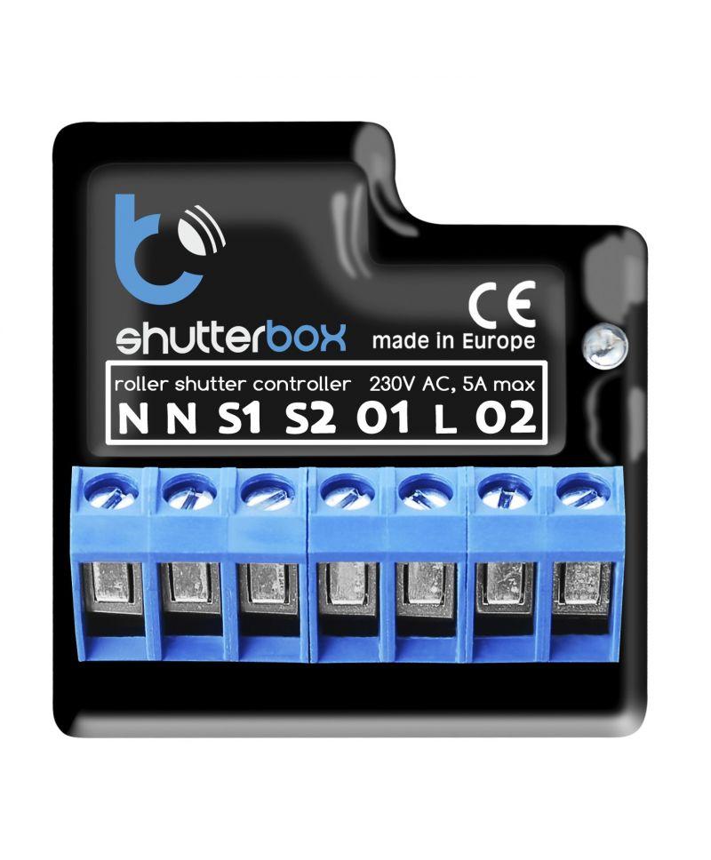 BleBox ShutterBox V.2 - Steuerung für Rolladen 230V - µWiFi