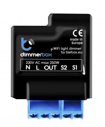BleBox dimmerBox - drahtloser Dimmer 230V - µWiFi