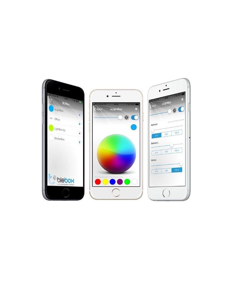 BleBox lightBox - Bluetooth Steuerung LED RGB