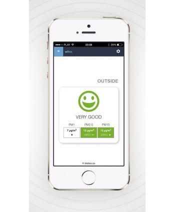 BleBox airSensor - Luftqualitätsanzeiger - µWiFi