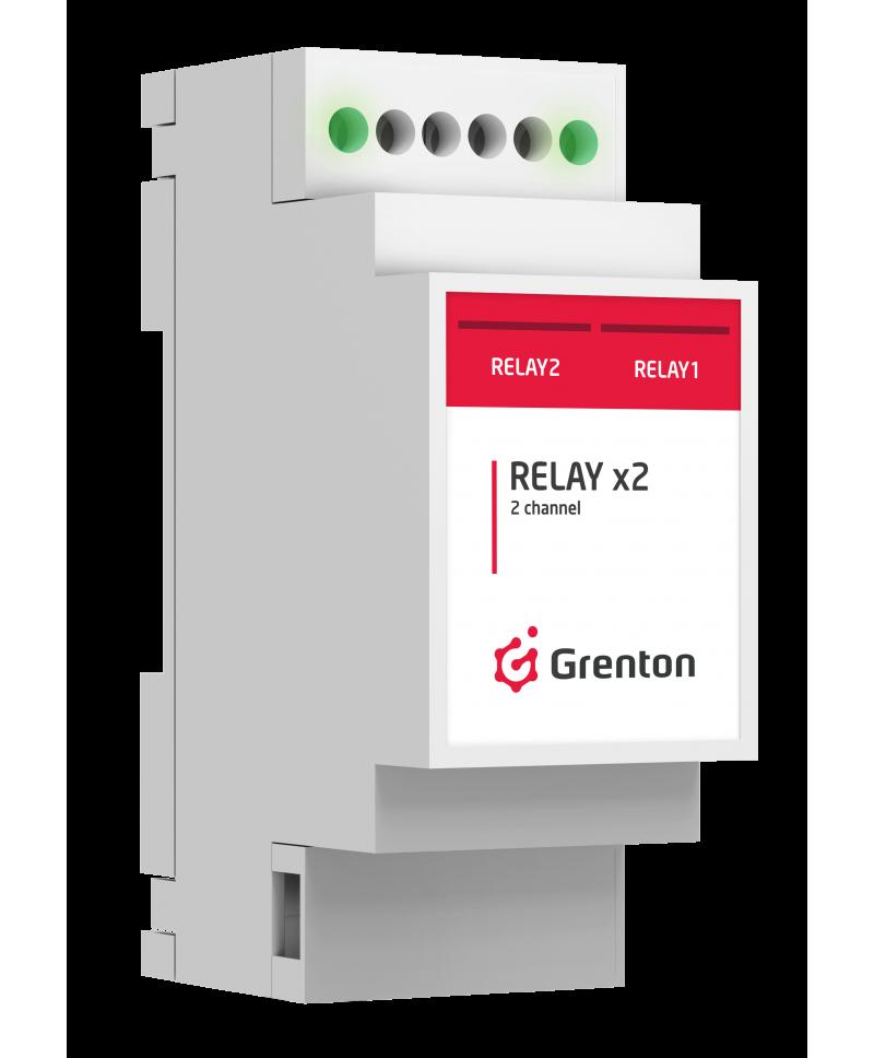 GRENTON RELAYx2, DIN, TF-Bus REL-019-T-01