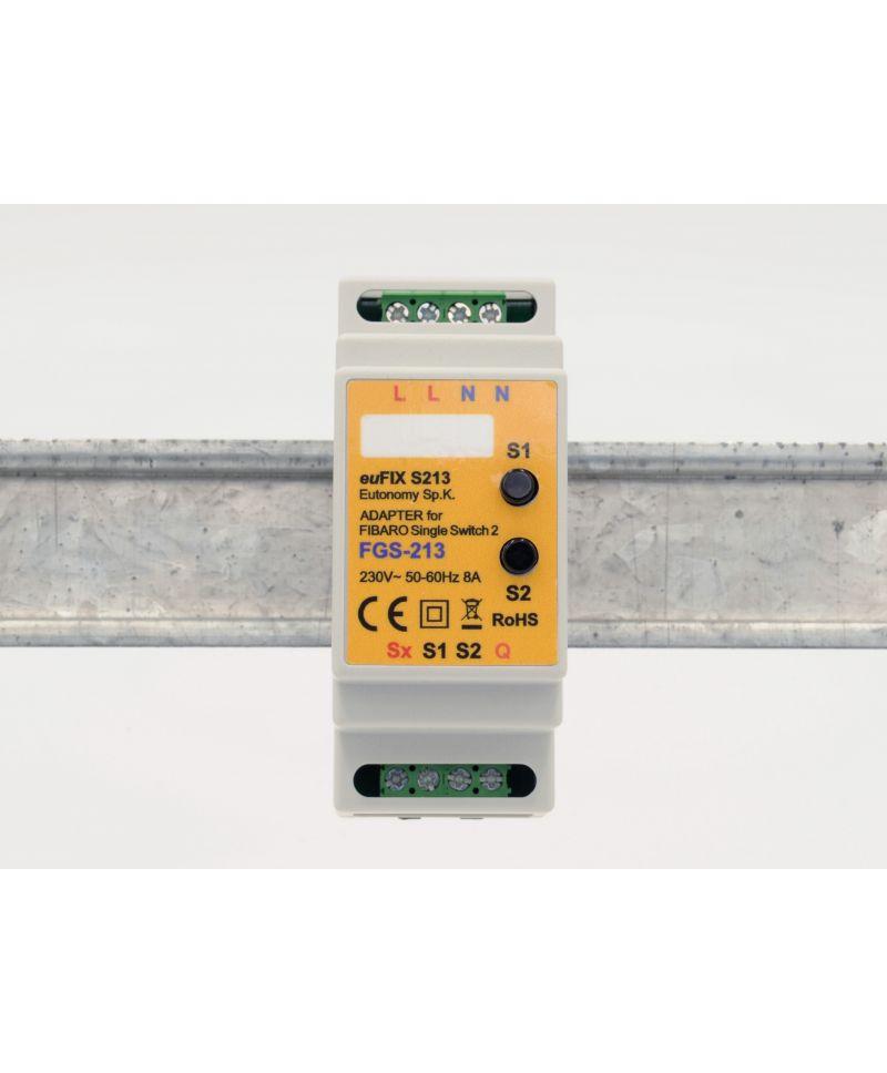 euFIX S213 Eutonomy Adapter für Single Switch 2 FGS-213