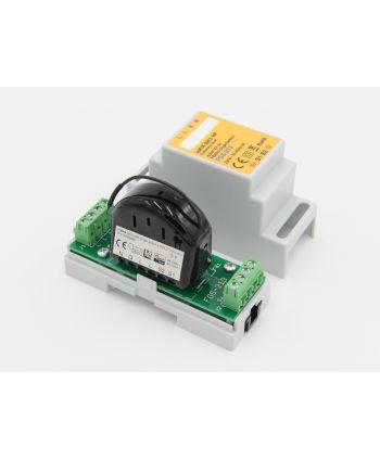 FIBARO Single Switch FGBHS-213 für Apple HomeKit Montage auf der Hutschiene mit euFIX S213NP