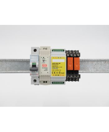 euFIX S222NP Eutonomy Adapter für FIBARO Relay Switch FGS-222
