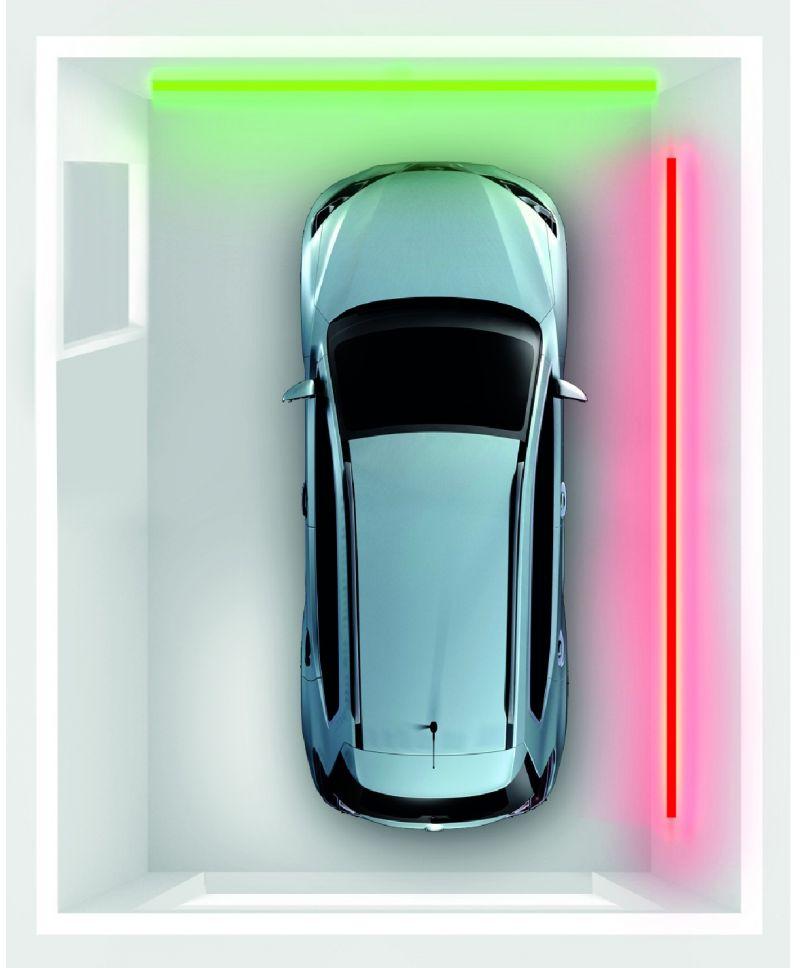 BleBox parkingSensor - Parksensor LED-Bedienfeld/RGB-LED