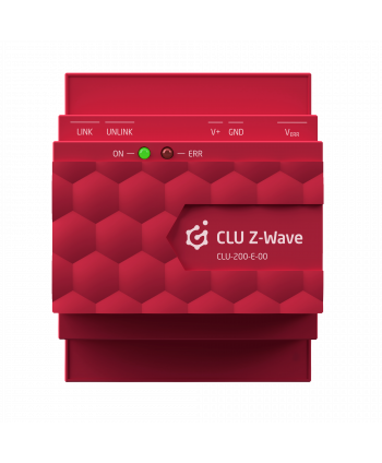 GRENTON V.2 CLU Z-Wave, DIN, Eth, TF-Bus CLU-200-E-00
