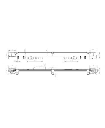 Mio Decor Shuttle L Plus - Elektrische Gardinenschiene