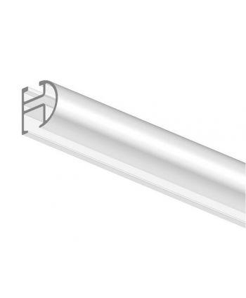 Mio Decor Gardinenstange/ Vorhangstange Simple 480 aus Aluminium für die Deckenmontage