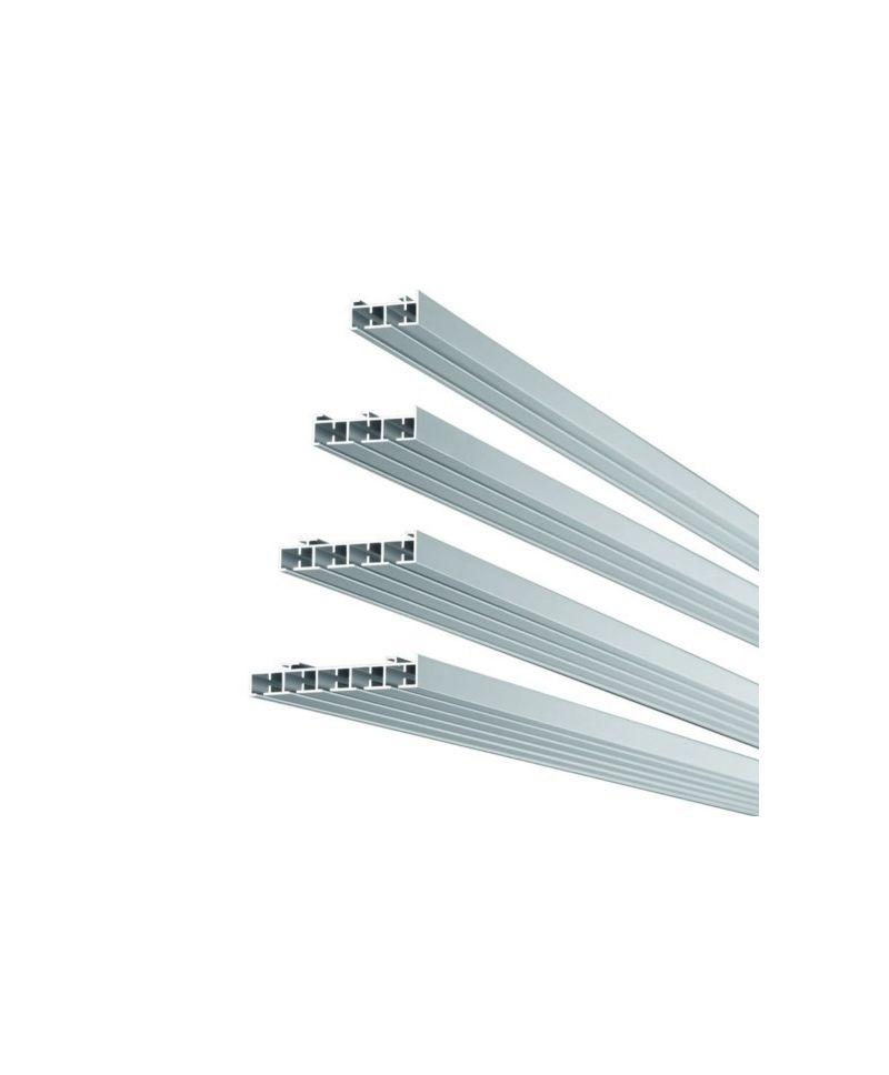 Mio Decor Imago Aluminiumschiene für die Deckenmontage, 5-läufig