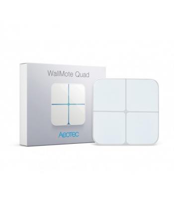 Aeotec WallMote Quad - Funkwandschalter mit 4 Tasten
