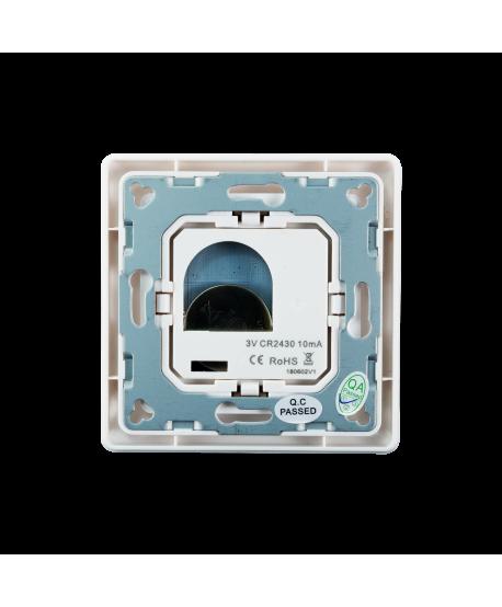 Heatit Z-Push Button 2 schwarz