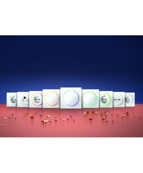 FIBARO Walli Outlet type F FGWOF-011 (10 pack)