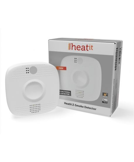 HEATIT Z-SMOKE DETECTOR 230V - multifunktionaler Rauchmelder