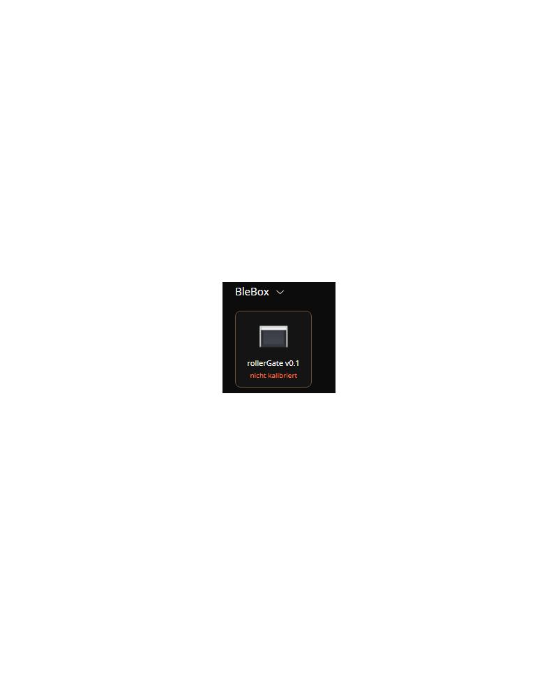blebox rollerGate QuickApp v0.1