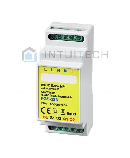 euFIX S224NP Eutonomy Adapter für FIBARO Smart Module FGS-224
