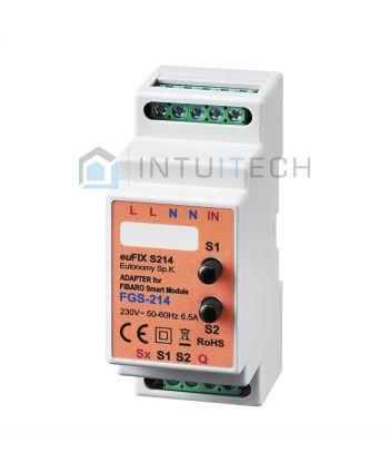 euFix S214 Eutonomy Adapter für FIBARO Smart Module FGS-214