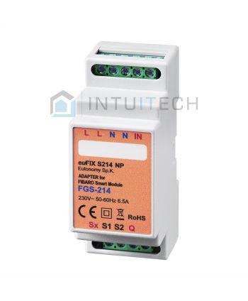 euFIX S214NP Eutonomy Adapter für FIBARO Smart Module FGS-214