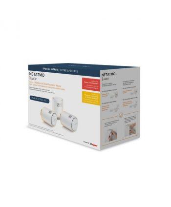 Netatmo Smarter Heizkörperthermostat 3-Pack Bundle (Netatmo Relay vorausgesetzt)
