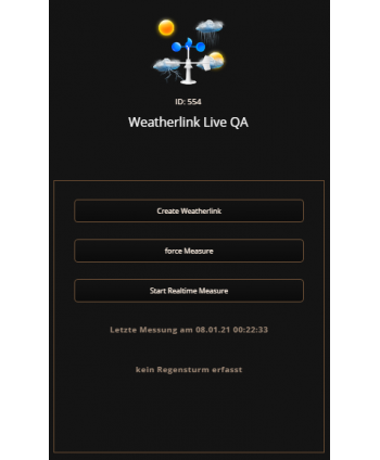 Davis Weatherlink Live QuickApp v0.1
