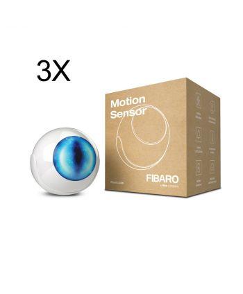 FIBARO Motion Sensor 3x FGMS-001