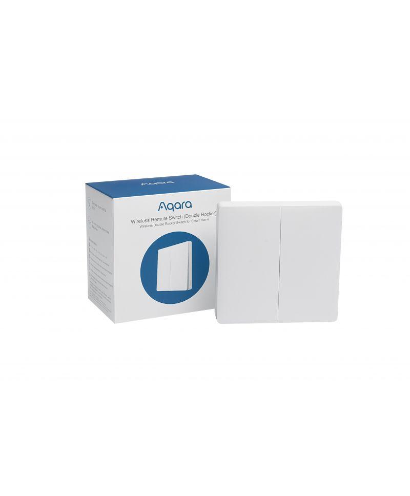 Xiaomi / AQARA Funkfernschalter (Doppelwippe) EU Version AK012UEW01