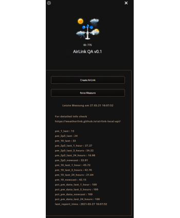 Davis AirLink QuickApp VD v0.1
