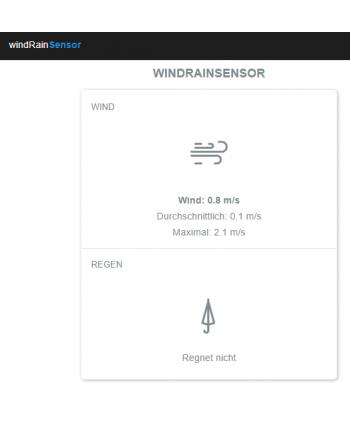 blebox WindRainSensor - QuickApp HC3