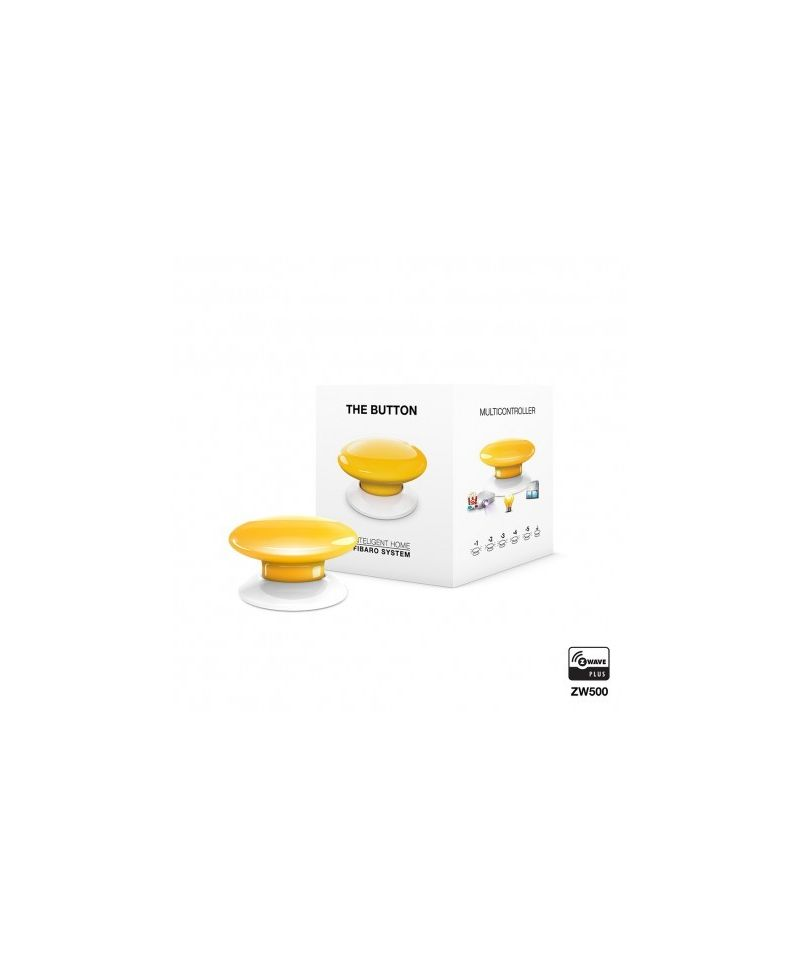 FIBARO The Button Gelb FGPB-101-4