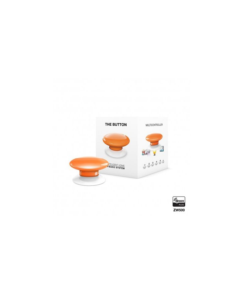 FIBARO The Button Orange FGPB-101-8