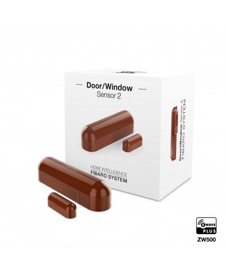 FIBARO Door-/Window Sensor 2 Mittelbraun FGDW-002-6