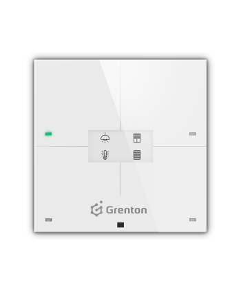 GRENTON SMART PANEL 4B, OLED, TF-Bus, weiß