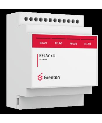 GRENTON RELAYx4, DIN, TF-Bus REL-020-T-11