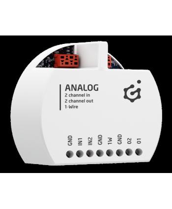 GRENTON ANALOG IN/OUT 0-10 V, flush-mount, TF-Bus