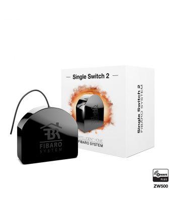 FIBARO Single Switch 2 FGS-213 Montage auf der Hutschiene mit euFIX S213
