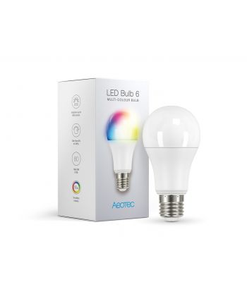 Aeotec LED Bulb 6 Multi-Color (E27) AEOEZWA002