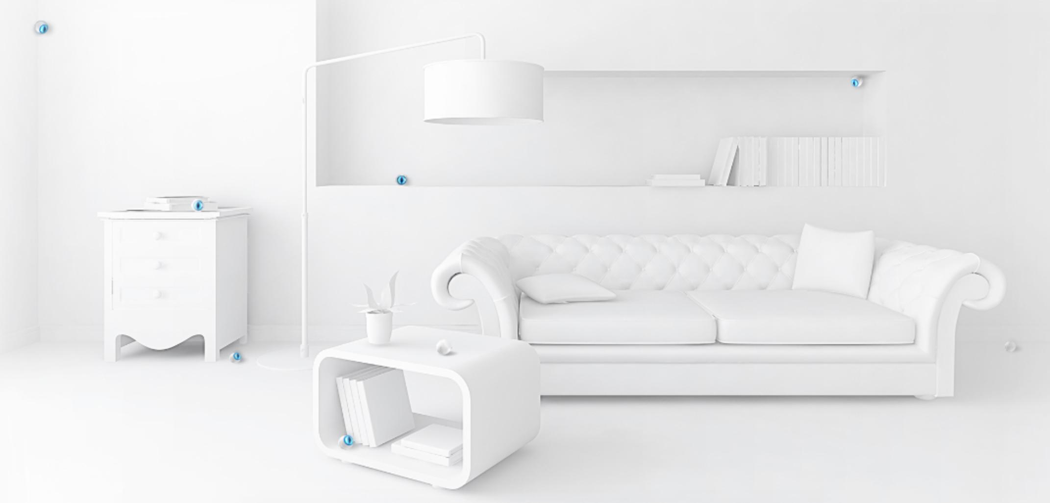 FIBARO Motion Sensor in der Wohnung