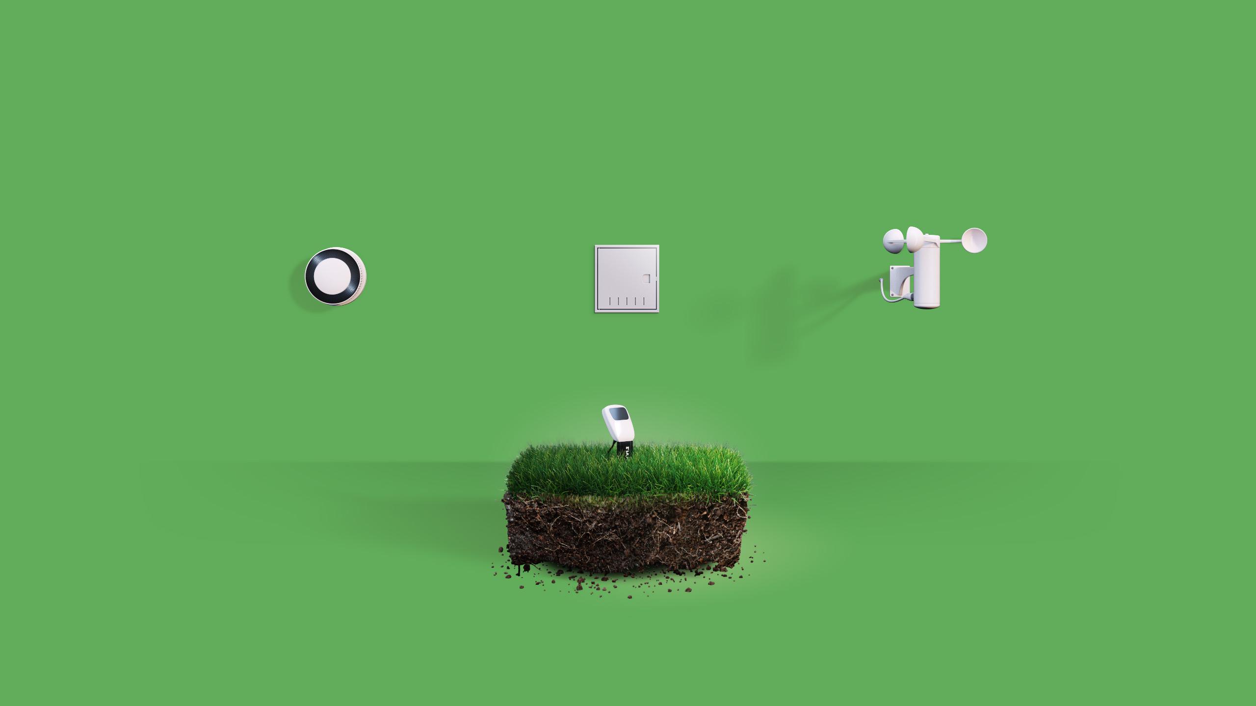 FIBARO Smart Implant - Garten